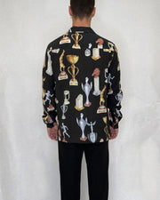 Trophy Shirt Black - Local Pattern