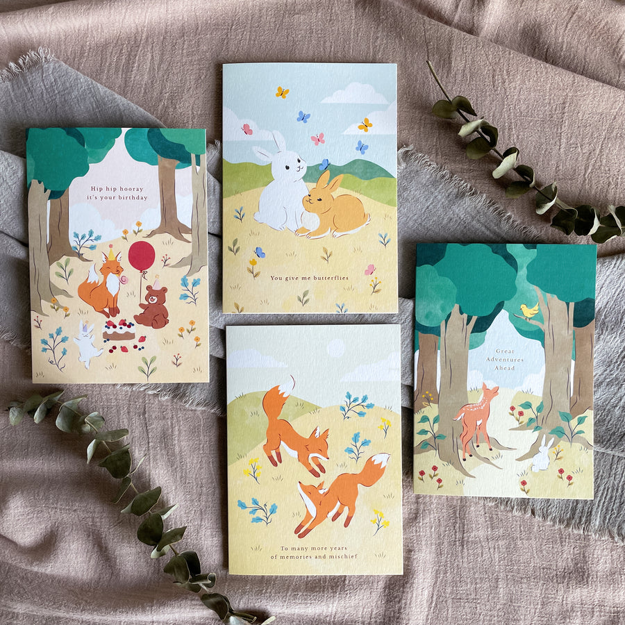 Greeting Cards Bundle (Set of 4)