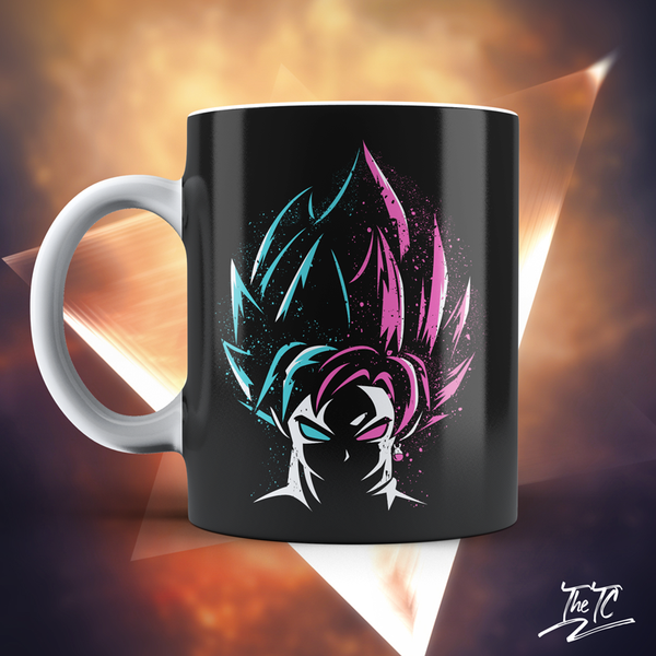The Tshirt Collection - Super Saiyan Blue vs Super Saiyan Rose Mug