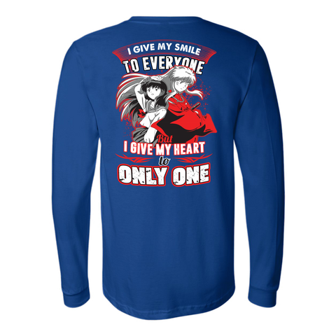 Inuyasha- I give my smile to everyone -Unisex Long Sleeve-TL01494LS