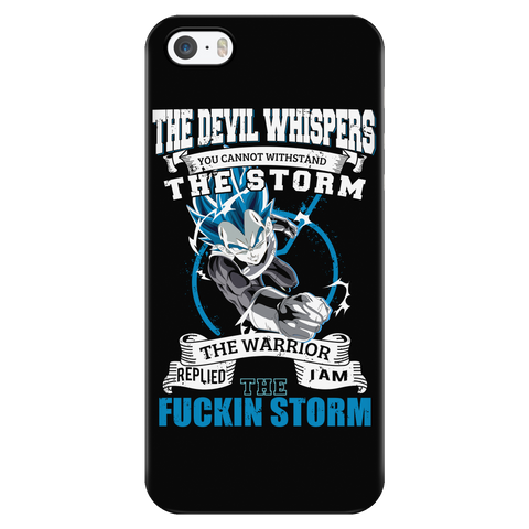 Super Saiyan - VEGETA STORM - Iphone Phone Case - TL01200PC