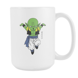 Super Saiyan - Piccolo fusion with Krillin Prilin - 15oz Coffee Mug - TL00875M5