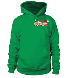 Christmas Hoodie- 3 CHRISTMAS CATS IN THE POCKET -Unisex Hoodie - The TShirt Collection