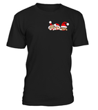 Christmas Short Sleeve- 3 CHRISTMAS CATS IN THE POCKET -Men Short Sleeve - The TShirt Collection