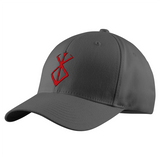 Berserk Red SymBol Structured Twill Cap - PF00340TC - The TShirt Collection