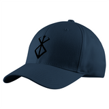 Berserk Black SymBol Structured Twill Cap - PF00342TC - The TShirt Collection