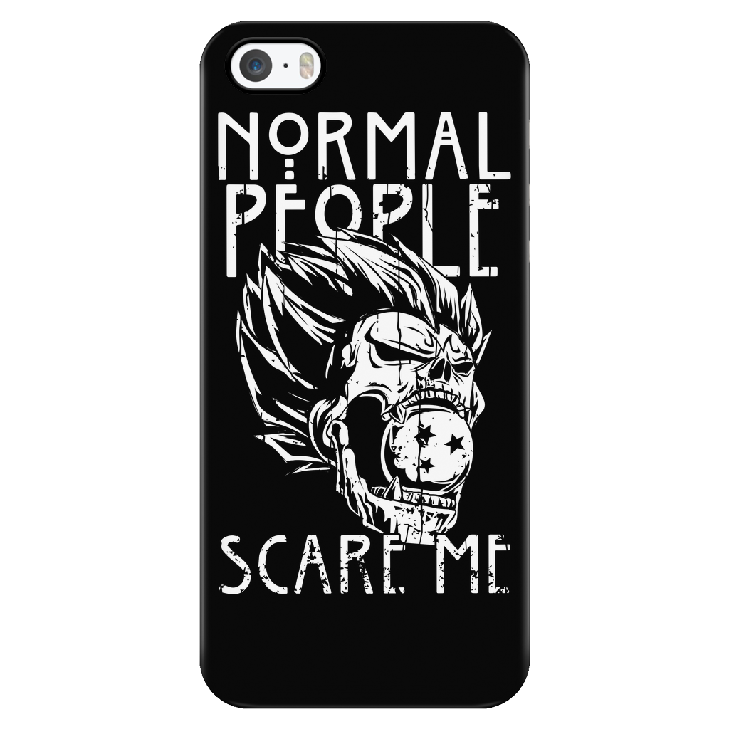 Super Saiyan - Normal people scare me- Iphone Phone Case - TL00872PC