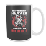 Super Saiyan Majin Vegeta Out Of Hell 15oz Coffee Mug - TL00461M5