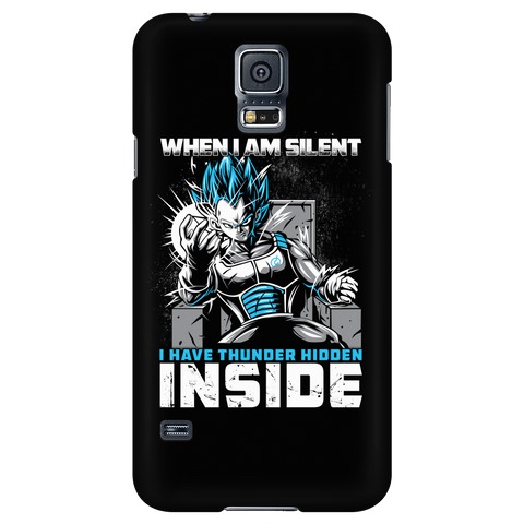 Super Saiyan - When i am silent - Android Phone Case - TL01307AD