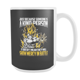 Super Saiyan Goku Show Mercy in Battle 15oz Coffee Mug - TL00440LM5