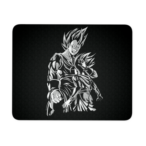 Super Saiyan Majin Vegeta and Trunks Mouse Pad -TL00218MP