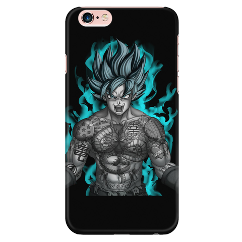 Super Saiyan - Goku with tattoo - Iphone Phone Case - TL01327PC