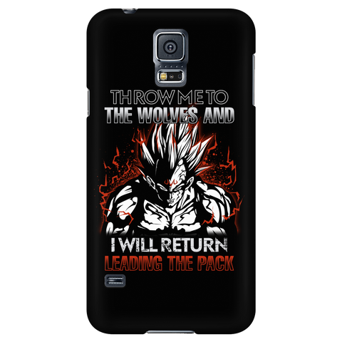 Super Saiyan - Majin Vegeta I will return- Android Phone Case - TL01294AD