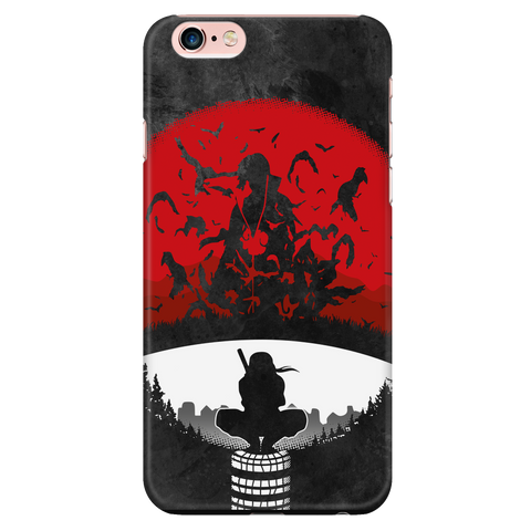 Naruto - Itachi red sun - Iphone Phone Case - TL01219PC