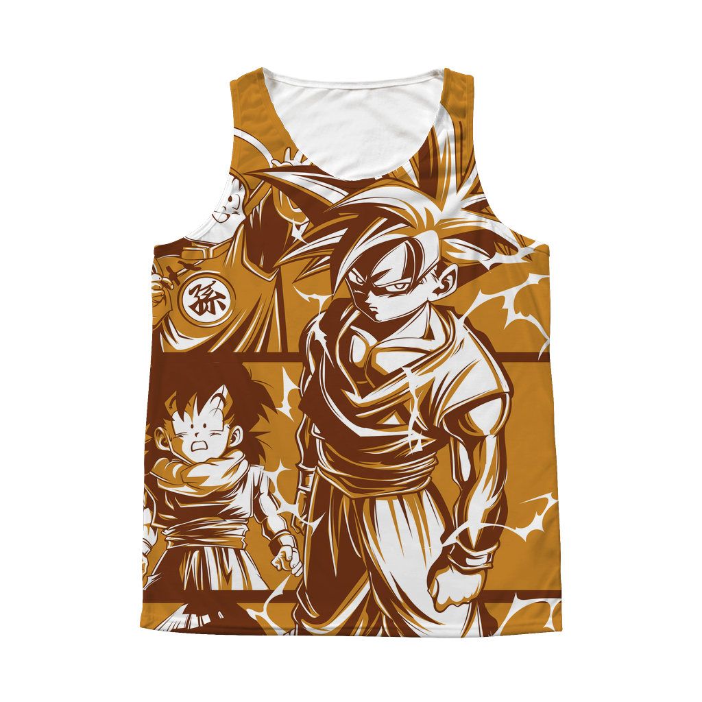 Super Saiyans Gohan 1 Sided 3D tank top t shirt - TL00421AT