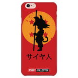 Super Saiyan Goku Kid iPhone 5, 5s, 6, 6s, 6 plus, 6s plus phone case - TL00247PC-RED