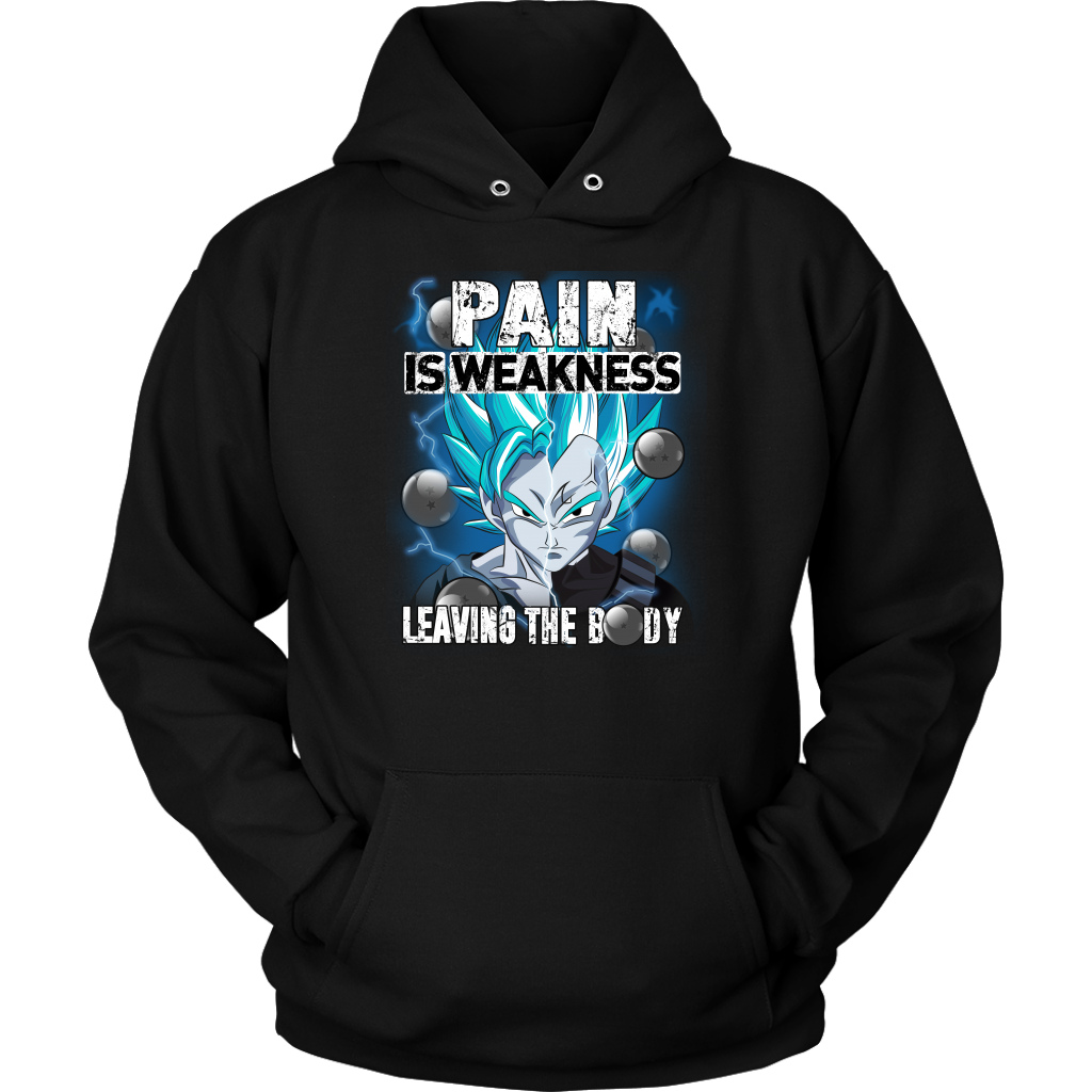 Super Saiyan - Pain sweakness leaving the body - Unisex Hoodie - TL01413HO
