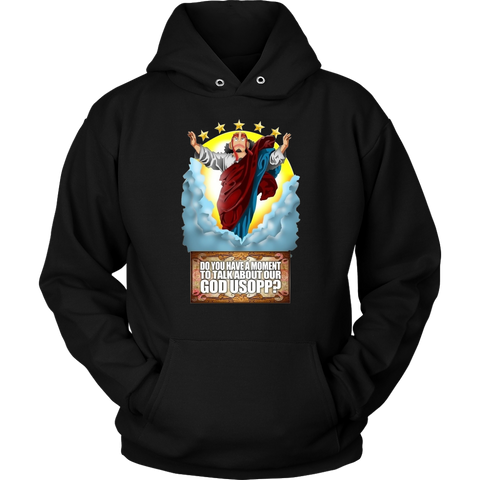 One Piece - Do you have a moment to talk about our god usopp? -Unisex Hoodie  - TL01661HO