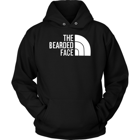 Beards - THE BEARDED FACE - Unisex Hoodie T Shirt - TL01672HO