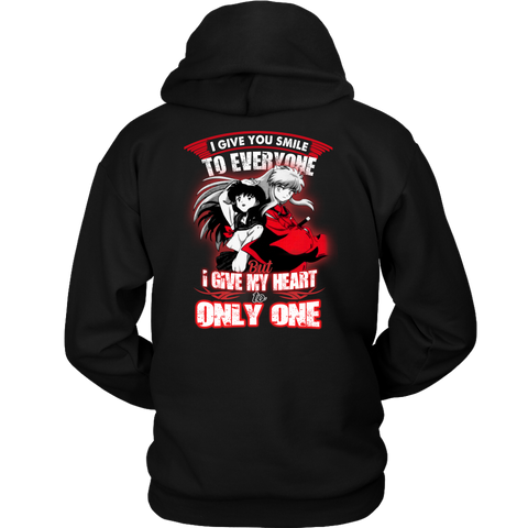 Inuyasha - I give my smile to everyone -Unisex Hoodie-TL01993HO