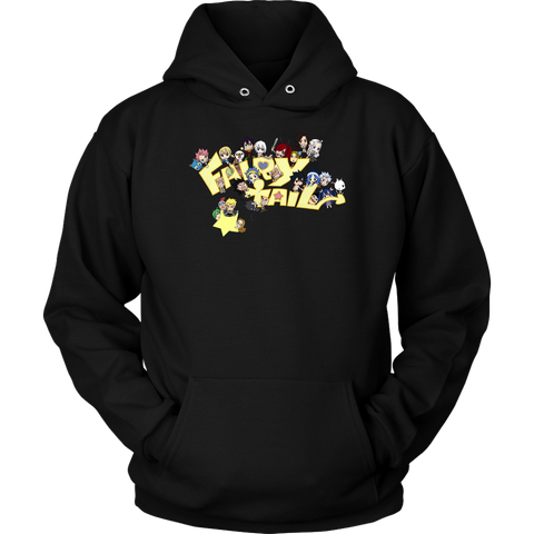 Fairy Tail - Fairy Tail Gang 4 -Unisex Hoodie  - TL01623HO