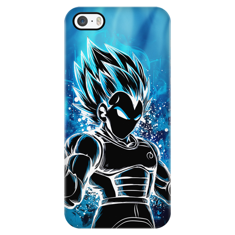 Super Saiyan - Super Saiyan Vegeta God Blue - Iphone Phone Case - TL00957PC