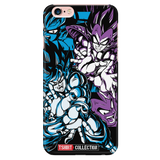 Super Saiyan Goku and Vegeta iPhone 5, 5s, 6, 6s, 6 plus, 6s plus phone case - TL00027PC-BLACK