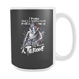 Naruto Sasuke Uchiha Stay on Throne 15oz Coffee Mug - TL00263M5