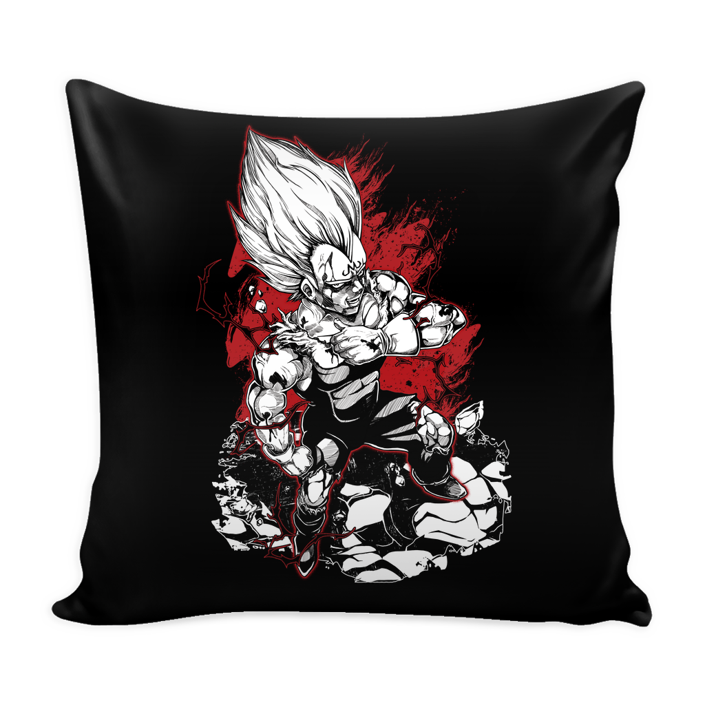 "Super Saiyan Majin Vegeta Pillow Cover 16"" - TL00054PL"