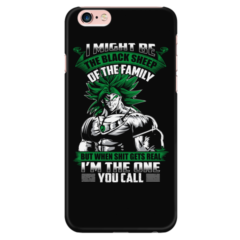 Super Saiyan - Broly is not a black sheep - Iphone Phone Case - TL01217PC