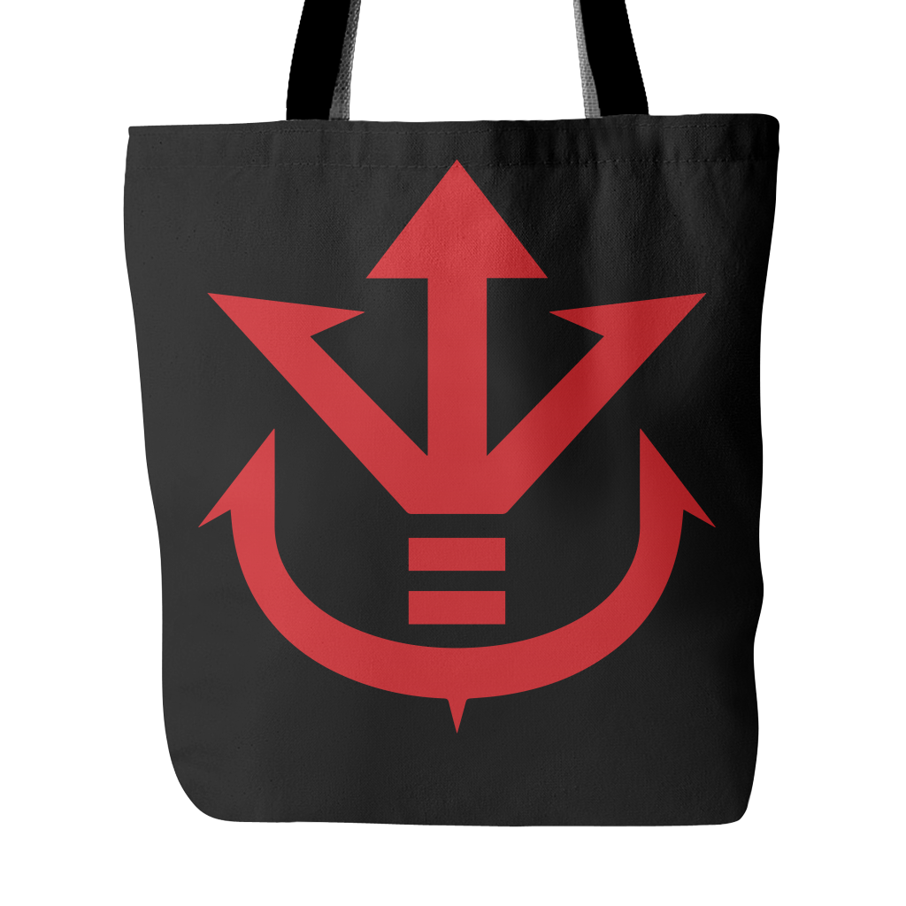 Super Saiyan - Red Vegeta Saiyan Crest - Tote Bag - TL00013TB