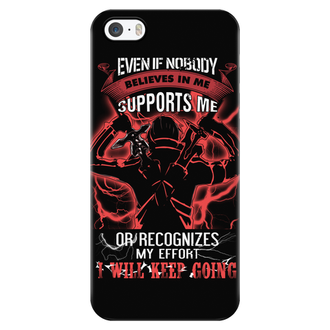 SAO - Kirito I Will Keep Going - Iphone Phone Case - TL01153PC
