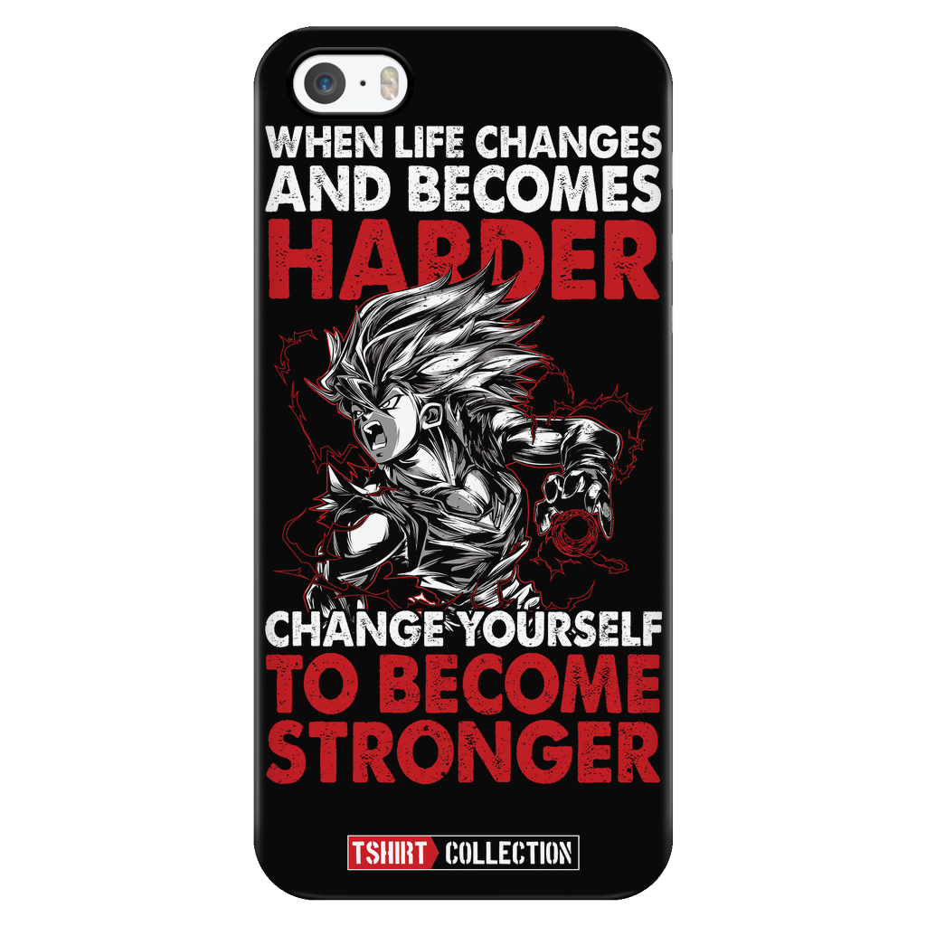 Super Saiyan Gohan iPhone 5, 5s, 6, 6s, 6 plus, 6s plus phone case - TL00024PC-BLACK