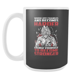Super Saiyan Bardock become stronger 15oz Coffee Mug - TL00474M5