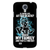 Super Saiyan - Vegeta God Blue protect family - Android Phone Case - TL00886AD