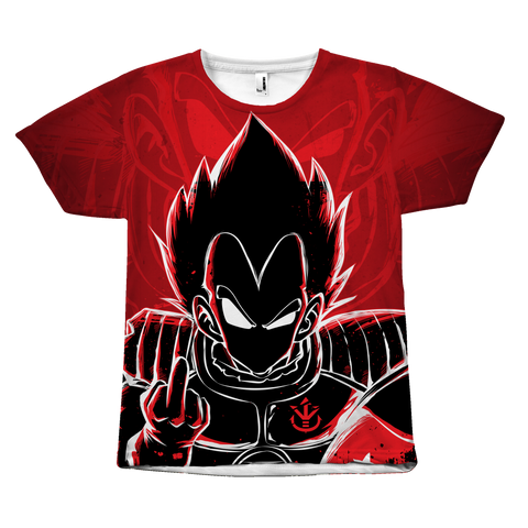 Super Saiyan - Vegeta attitude - All Over Print T Shirt - TL00979AO