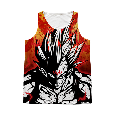 Super Saiyan - Majin Vegeta - 1 Sided 3D tank top t shirt Tank - TL00929AT