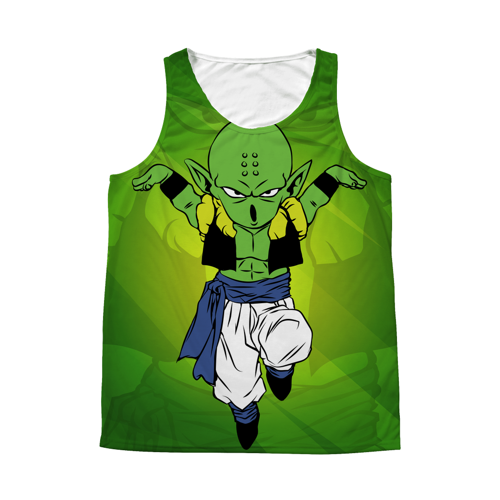 Super Saiyan - Piccolo Krillin Fusion Prillin - 1 Sided 3D tank top t shirt Tank - TL00941AT