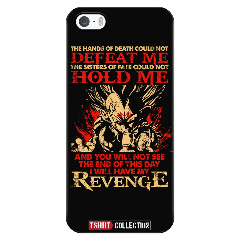 Super Saiyan Majin Vegeta Revenge iPhone 5, 5s, 6, 6s, 6 plus, 6s plus phone case - TL00241PC-BLACK