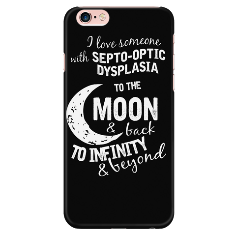 Funny T Shirt - I love someone to the moon and back - Iphone Phone Case - TL01350PC