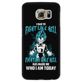 Super Saiyan - Vegeta God Blue Fight Like Hell - Android Phone Case - TL00816AD
