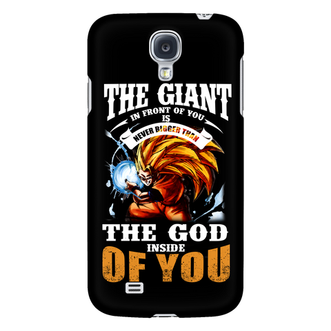 Super Saiyan - the god inside of you - Android Phone Case - TL01171AD