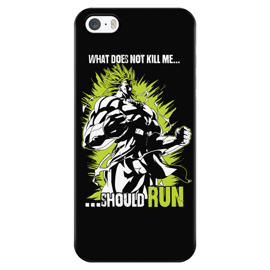 Saiyan Goku Broly iPhone phone case - TL00117PC-BLACK
