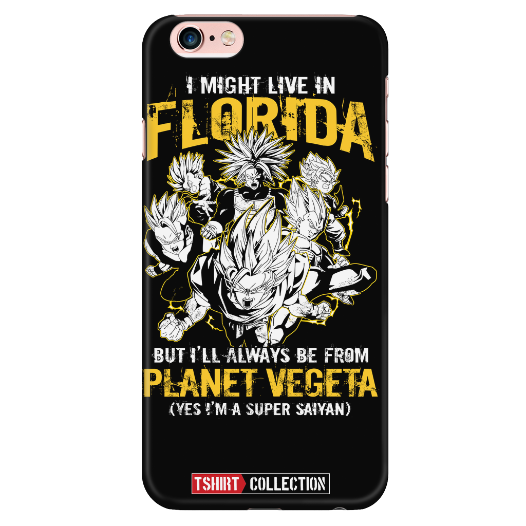 Super Saiyan Florida Group iPhone 6/6s 6/6s plus Phone Case - TL00006PC-BLACK