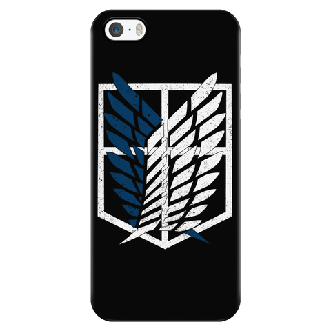 Attack on titan - survey corps logo - Iphone Phone Case - TL01192PC