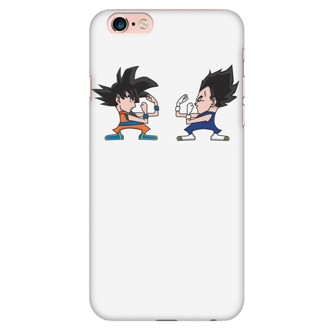 Super Saiyan - Saiyans Fight  - Iphone Phone Case - TL01341PC