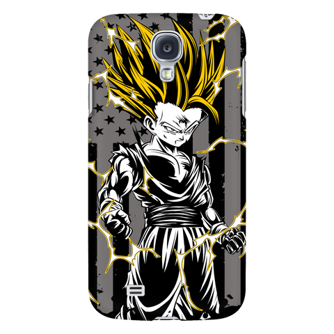 American Super Saiyan Gohan Android Phone Case - TL00003AD-BLACK - The TShirt Collection