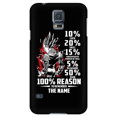 Super Saiyan Vegeta 100% Reason To Remember The Name - Android Phone Case - TL01230AD