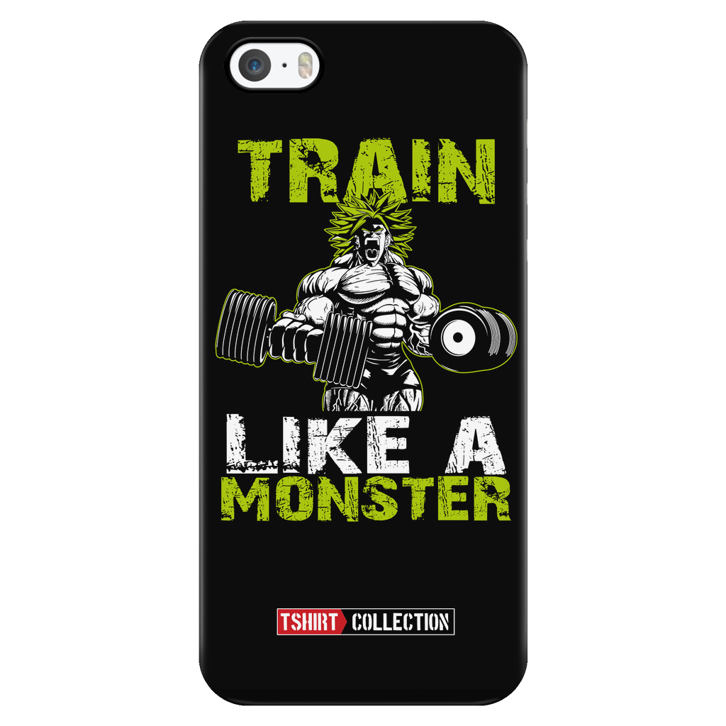 Super Saiyan Broly Train Like A Monster Iphone Case - TL00554PC