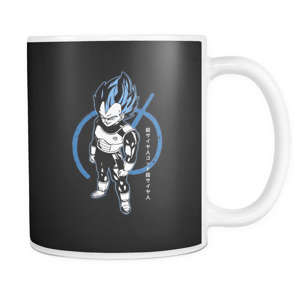 Super Saiyan Blue Vegeta God 11oz Coffee Mug - TL00016M1
